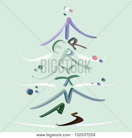 3-d Merry Christmas