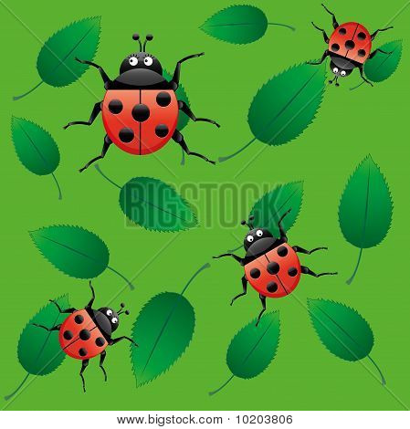Ladybug seamless
