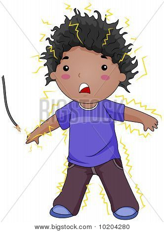 Electrocuted Kid