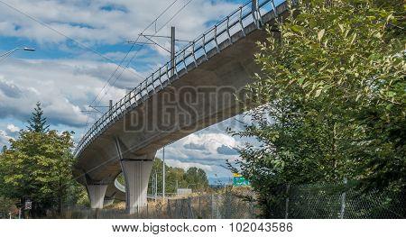 Under The Light Rail Track 3