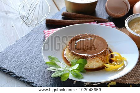 Cooking Creme Caramel