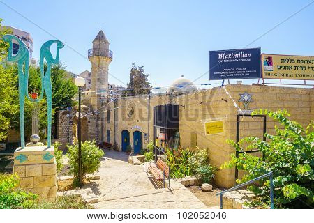 The Artists Quarter, Safed