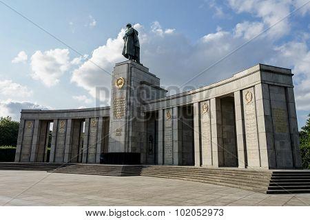 Second World War Memorial In Berlin
