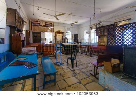 The Kosov Synagogue, Safed