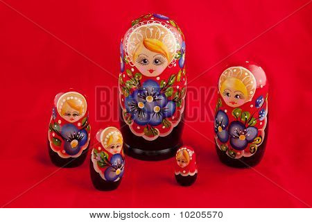 Russian Folk Toy: