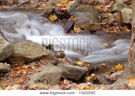 Waterfall Autumn