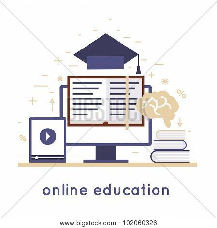 On-line education