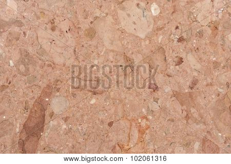 Detailed textured background of conglomerate.