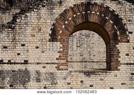 Window Detail of a Roman Theater