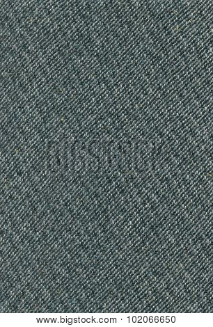 Deep Sea Green Tweed Fabric Texture, Detailed Wool Pattern, Large Detailed Textured Vertical Casual