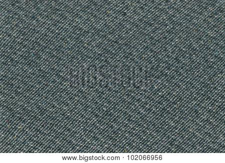Deep Sea Green Tweed Fabric Texture Detailed Wool Pattern, Large Detailed Textured Horizontal Casual