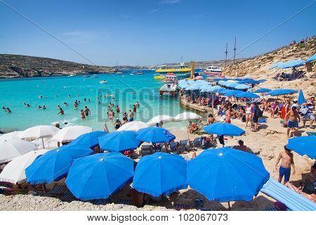 Blue Lagoon Parasols