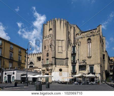 San Domenico Maggiore In Naples, Italy