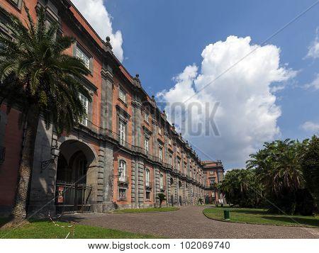 Capodimonte Museum In Naples, Italy