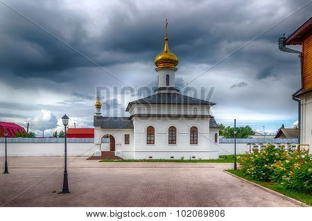 Abalak Monastery Honor Icon Mother  God  Sign Tobolsk Diocese Russia