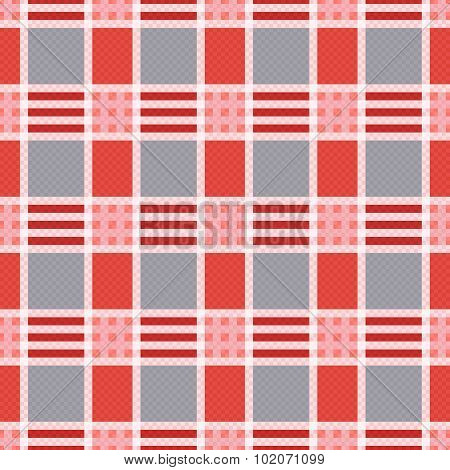 Rectangular Seamless Pattern In Pink An Gray Trendy Hues