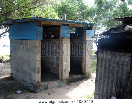 Toilet  And Shower Block