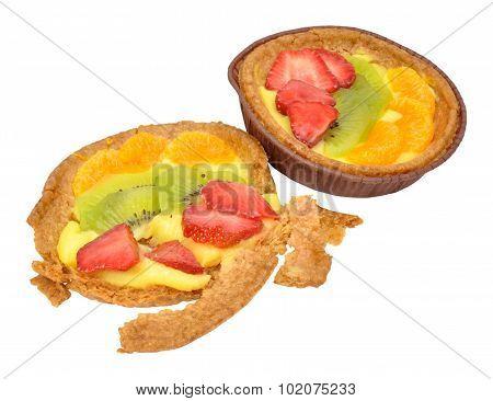 Fruit Custard Tarts