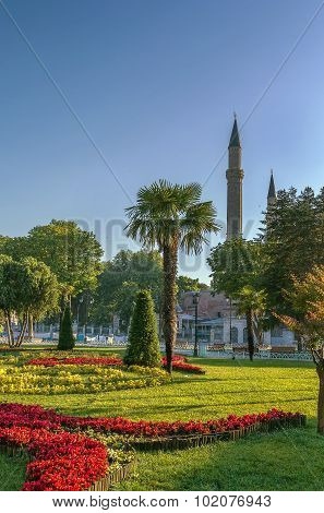 Sultan Ahmed Park, Istanbul