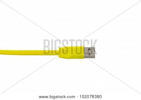 Yellow Wire Usb