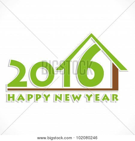happy new year 2016 home design