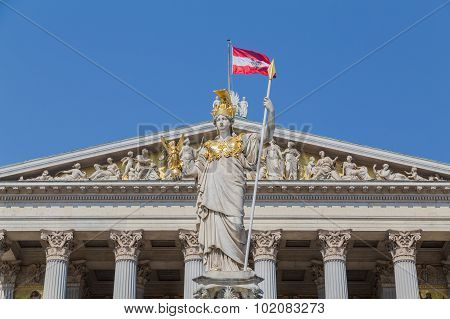 Part Of The Austrian Parliament