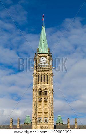Ottawa Parliament Clock Tower