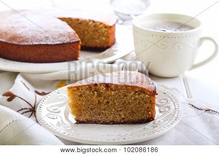 Kedleston Orange Marmalade Cake