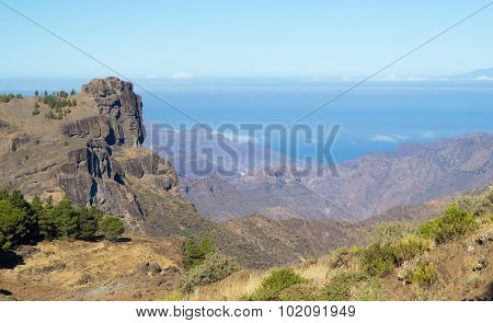 Gran Canaria, Caldera De Tejeda, Morning Light