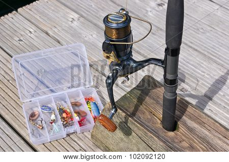 Fishing Reel And Lures