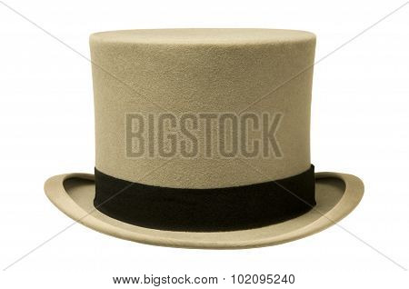 Vintage Gray Top Hat