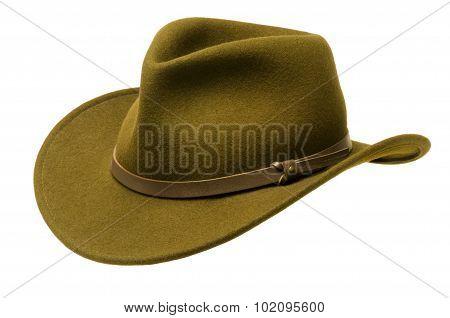 Green Adirondack Hat