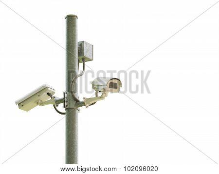 Security Camera Or Cctv Camera