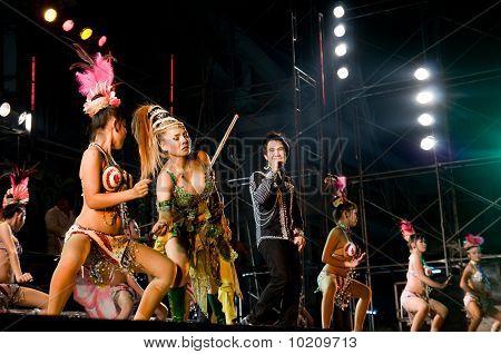 Concert In Samut Prakan, Thailand