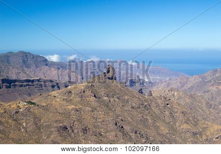 Gran Canaria, Caldera De Tejeda, Morning Light