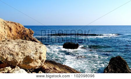 The beautiful waters of the South Sea