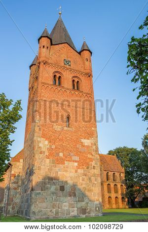 Sankt Petri Church Of Westerstede In Lower Saxony