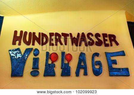 Hundertwasser Village In Vienna, Austria
