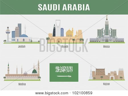 Cities In Saudi Arabia
