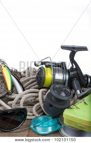 Fishing Tackles On Board And Cord