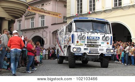 Annual Celebration Of Novy Jicin - Tatra 815 Of Team Tatra Slovakia