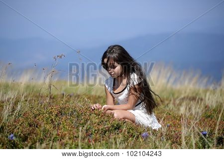 Girl In Valley