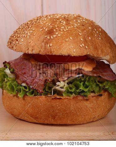 Delicious Big Burger