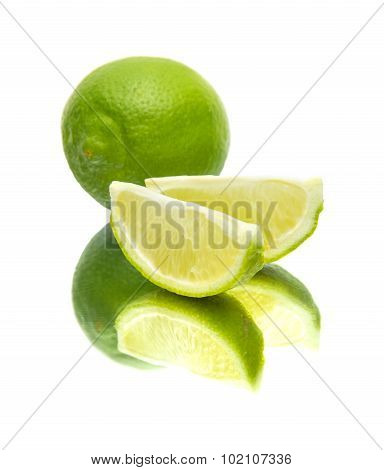 Lime On Mirror