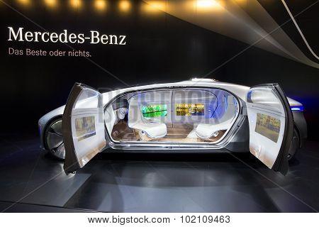 Mercedes Benz Autonomous Concept Car
