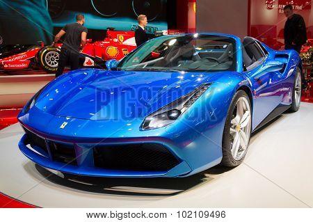 Ferrari 488 Gts Spider