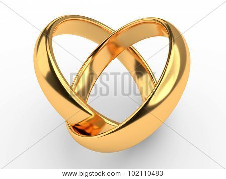 Heart With Rings