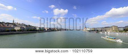 Budapest Danube Panorama