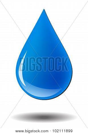vector water drop