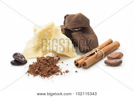 Ingredients For Cooking  Homemade Chocolate